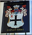 SX3057 : Sign for the Copley Arms, Hessenford by JThomas