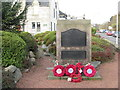 NT3336 : Innerleithen War Memorial by M J Richardson