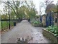 TQ3585 : Walled Garden Walk, St John-at-Hackney by Marathon