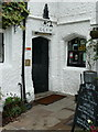 SE0426 : The doorway of the Lord Nelson Inn, Luddenden by Humphrey Bolton