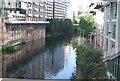 SJ8398 : River Irwell by N Chadwick