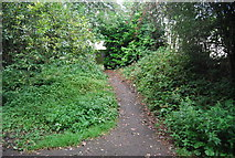 SE3156 : Footpath off the old line by N Chadwick
