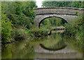 SJ9168 : Mottersheads Bridge south-west of Oakgrove, Cheshire by Roger  Kidd