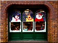H4572 : Festive window, Omagh 2014 : Week 50