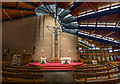 SP0781 : St Dunstan's Roman Catholic Church Interior by Guy Butler-Madden