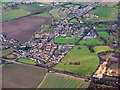 TL1738 : Henlow village from the air by M J Richardson