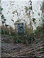 SJ6919 : OS flush bracket - Tibberton Trig by Richard Law