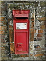 TG2527 : Victorian wall-mounted postbox by Adrian S Pye