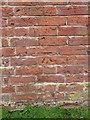 SJ6720 : OS benchmark - Cherrington Grange Barn by Richard Law
