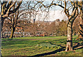 ST5971 : Bristol city centre, from Victoria Park, Bedminster 1989 by Ben Brooksbank