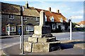 TF0122 : Market cross at Swinstead, near Bourne, Lincolnshire by Rex Needle