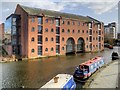 SJ8397 : Merchants Warehouse, Castlefield Basin by David Dixon