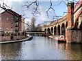 SJ8397 : Bridgewater Canal, Castlefield Junction by David Dixon