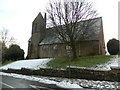 SJ5765 : Church of St John and the Holy Cross, Cotebrook by John Lord