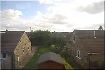 SE3355 : Rooftops by the Harrogate Line by N Chadwick