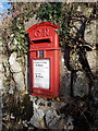 SW9552 : Hay: postbox № PL26 163 by Chris Downer