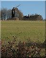 TL5858 : Six Mile Bottom Windmill by John Sutton