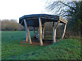 TQ0486 : Seating area, Denham Country Park by Alan Hunt