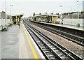TQ2380 : Shepherds Bush Market underground station, London by Nigel Thompson