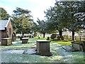 SJ4360 : St Marys churchyard, Bruera [1] by Christine Johnstone