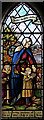 TQ2796 : Christ Church, Cockfosters - Stained glass window by John Salmon