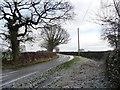 SJ4763 : Martin's Lane, heading east by Christine Johnstone