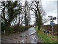 SJ3477 : Heath Lane, looking east from a 36 metre spot height by Christine Johnstone