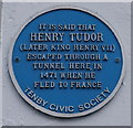 Photo of Henry VII black plaque