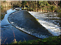 TQ0586 : Weirs, River Colne by Alan Hunt