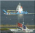 NS3174 : Cameron passing Port Glasgow : Week 4