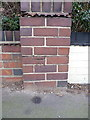 SP1481 : OS benchmark - Ulverley Green, 91 Dove House Lane by Richard Law