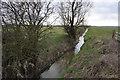 TL3767 : Drainage ditch under Ramper Road by Bill Boaden