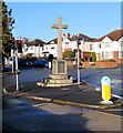 SO5240 : Tupsley War Memorial Cross, Hereford by Jaggery