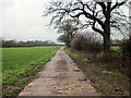 SJ4451 : Track to Grafton Hall by Jeff Buck