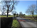 SP7425 : Entrance to East Claydon by Alex McGregor
