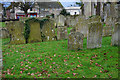 As with the majority of churchyards, most of the graves have been cleared and the churchyard is now maintained by the local authority.