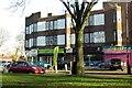 SP1182 : Shops on Fox Hollies Road by Steve Daniels