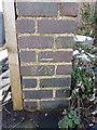 SP1288 : OS benchmark - Hodgehill, 821 Washwood Heath Road by Richard Law