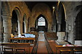 SO9467 : Interior of Stoke Prior church by Philip Halling