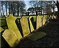 TA1254 : Gravestones, Beeford churchyard : Week 10