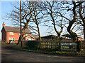 SJ7466 : Corner of Poolford Lane by Des Blenkinsopp