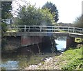 SP8911 : Accommodation bridge at Bucklandwharf by Rob Farrow