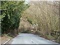 SP8204 : Road, Lower Cadsdean by Robin Webster