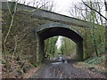 SD5910 : Arley Lane bridge crossing cycle trail by JThomas