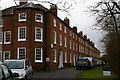 SJ6552 : Nantwich: Dysart Buildings, Monks Lane by Christopher Hilton