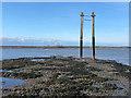 TQ9366 : Former Swale crossing : Week 14