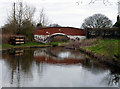 SJ5877 : Trent and Mersey Canal:  Bridge No 213 by Dr Neil Clifton