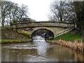 SJ8459 : Macclesfield Canal:  Gravel Pit Bridge No 83 by Dr Neil Clifton