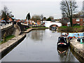 SJ7065 : Trent and Mersey Canal:  Middlewich Junction by Dr Neil Clifton