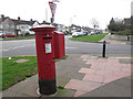 TQ4674 : Postbox on Ramillies Avenue by Stephen Craven
